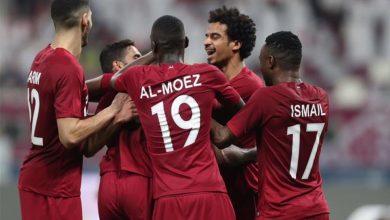 صورة المنتخب القطري يفوز بجائزة اللعب النظيف في خليجي 24