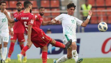 صورة العراق يفلت من الهزيمة في بطولة آسيا