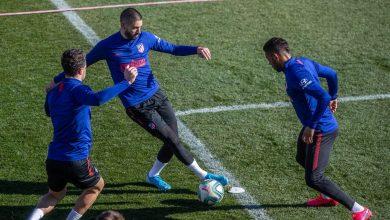Photo of أتلتيكو مدريد يعلق تدريباته