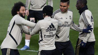 Photo of ريال مدريد يتدرب في حضور رئيس النادي