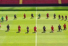 Photo of لاعبو ليفربول يوجهون رسالة بعد مقتل فلويد