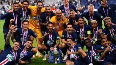 صورة باريس سان جيرمان بطلا لكأس فرنسا للمرة ال13