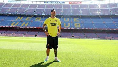 صورة ميسي أبلغ إدارة برشلونة برغبته في الرحيل