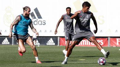 Photo of ريال مدريد يستعد لرحلته إلى مانشستر