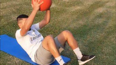 صورة لاعبو اليد يستعينون بالأماكن المفتوحة لمواصلة التدريبات