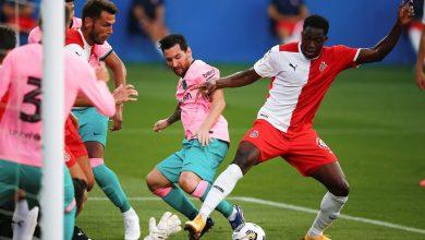 صورة ميسي يقود برشلونة للفوز على جيرونا