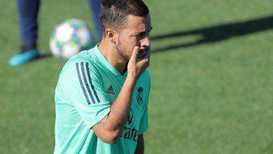 صورة زيدان: هازارد سيعود للملاعب قريبا