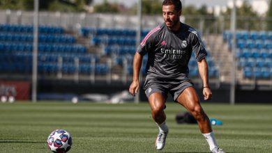 صورة هازارد يعود إلى تدريبات ريال مدريد