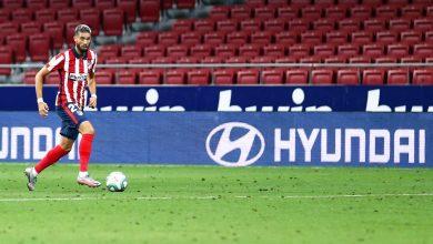 صورة كاراسكو مستمر مع أتلتيكو مدريد