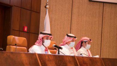 صورة وزير الرياضة السعودي يجتمع برؤساء الأندية