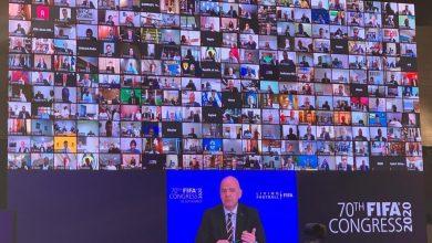 صورة رئيس اتحاد القدم يشارك في اجتماع الجمعية العمومية بالاتحاد الدولي