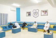 صورة اجتماع اللجنة الإعلامية بنادي النصر