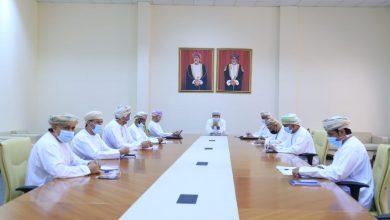 صورة الهنائي يجتمع مع رئيس اللجنة الأولمبية  ورؤساء الاتحادات