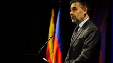 صورة استقالة بارتوميو ومجلس إدارة برشلونة