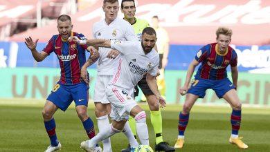 صورة الريال يصدم برشلونة بفوز كبير