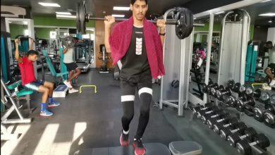 صورة الأحمر البارالمبي لألعاب القوى يعود للتدريبات