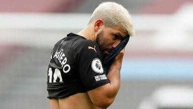 صورة جوارديولا: أجويرو قد يغيب لمدة شهر