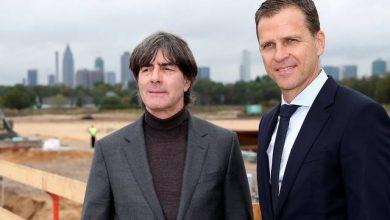 صورة بيرهوف يؤكد دعم لاعبي المنتخب الألماني للوف