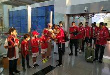 صورة بالصور: وصول بطل الكأس مطار صلالة