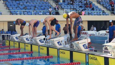 صورة أكثر عن 85 سباحا في سباق تحدي السرعة للسباحة