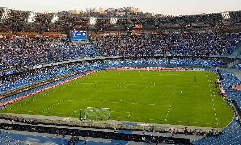 صورة إعادة تسمية ملعب نابولي على اسم مارادونا